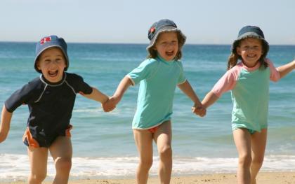 Niños de vacaciones