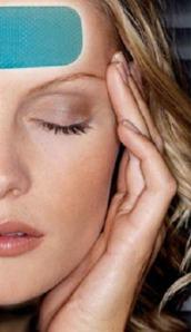 Parches gel frio para el dolor de cabeza